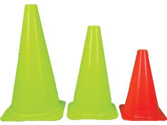"9"" Traffic Cone | Diamond Soccer Training Traffic Cones"