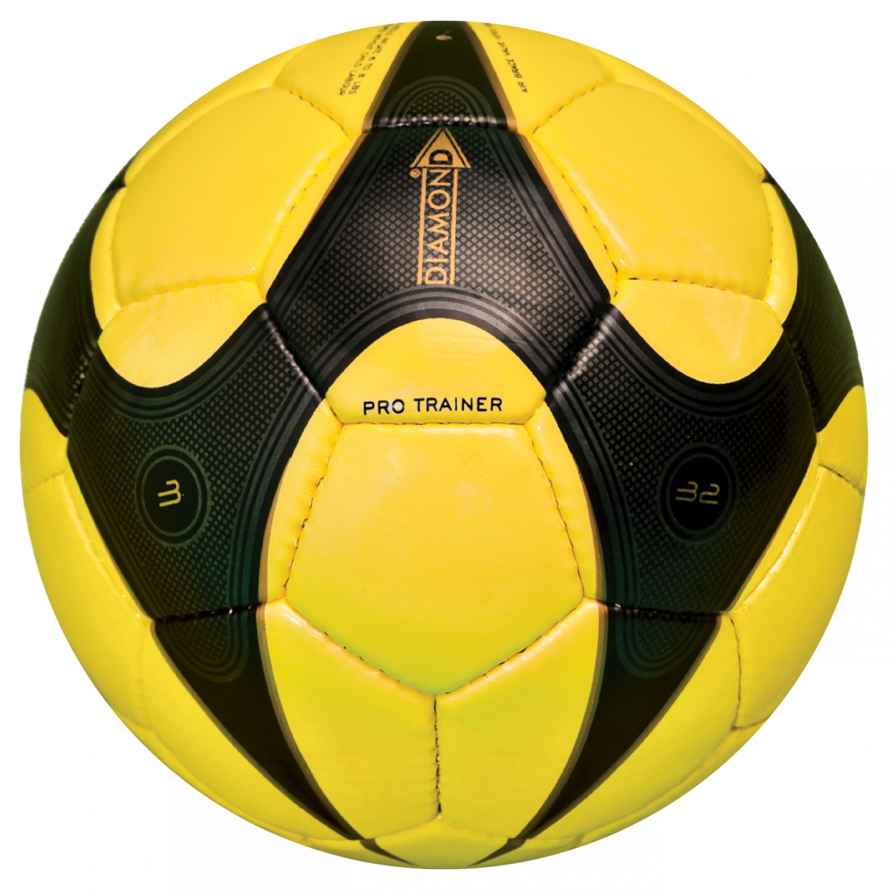 Pro Trainer Yellow Black Football